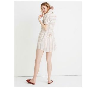 Madewell Popover Courier Shirtdress